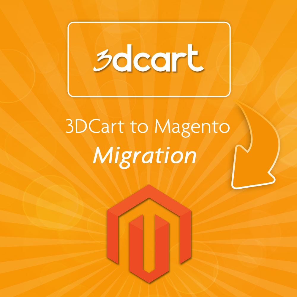 3DCart to Magento Migration