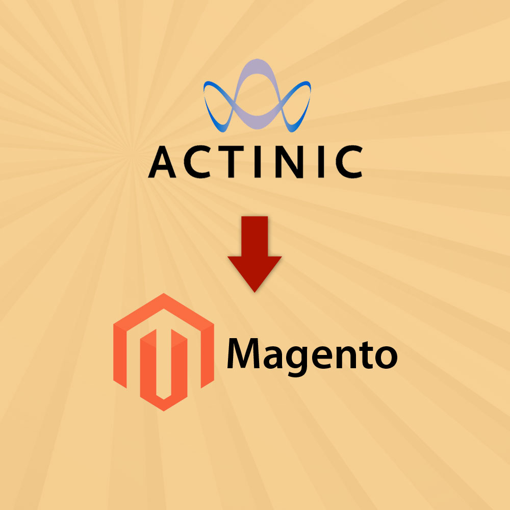 Actinic to Magento Migration