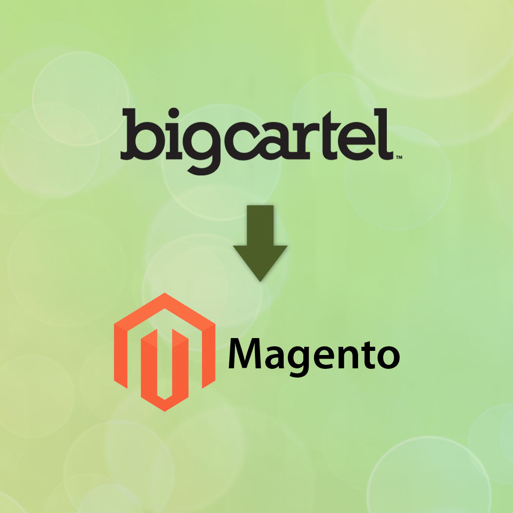 BigCartel to Magento Migration