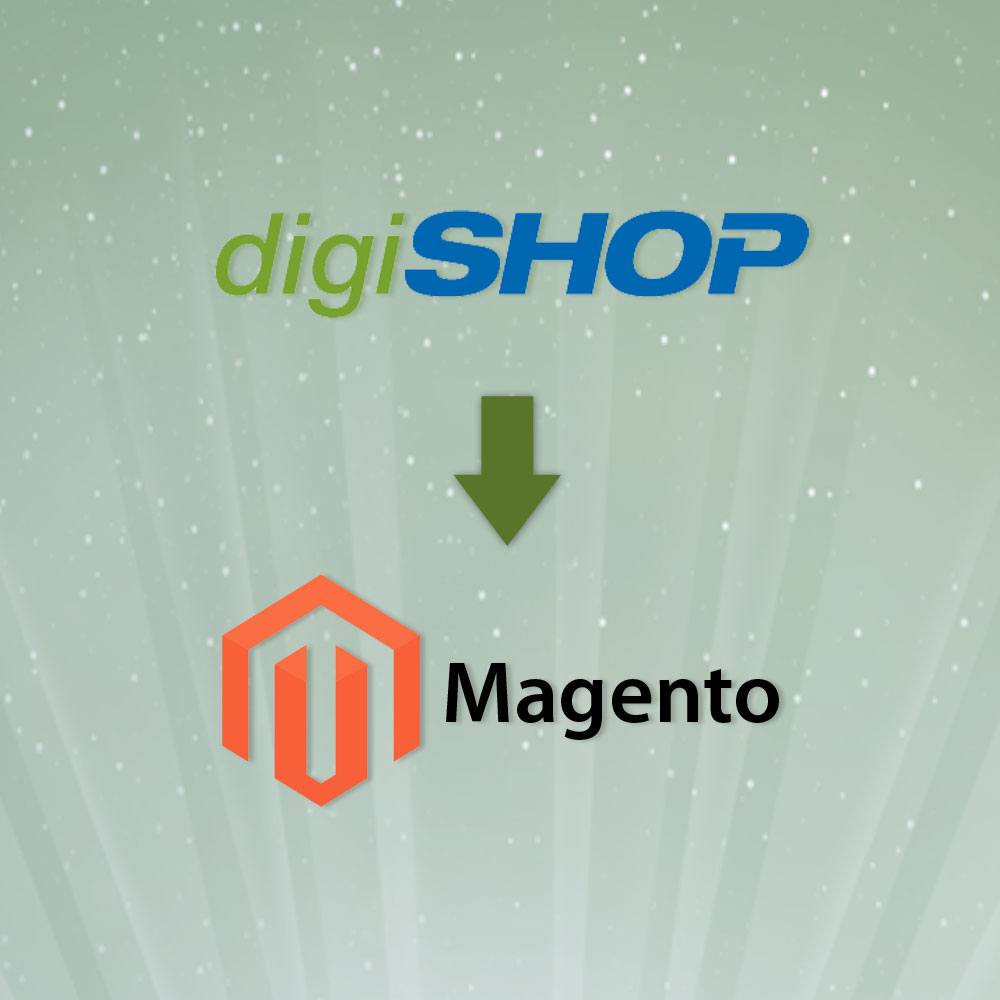 digiSHOP to Magento Migration