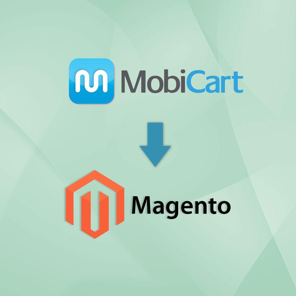 MobiCart to Magento Migration