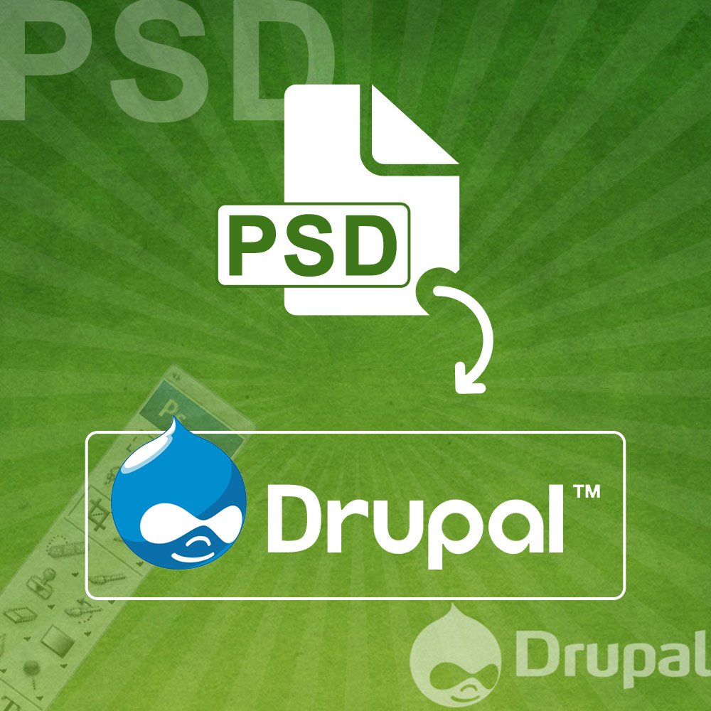 PSD to Drupal Theme