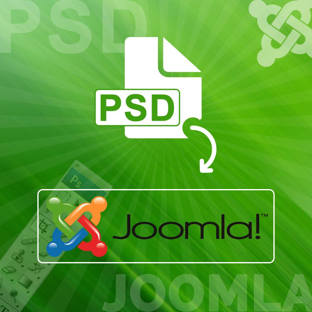 PSD to Joomla Theme