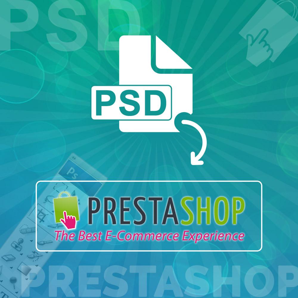 Uploaded ToPSD to Prestashop Theme