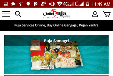 Online puja solution