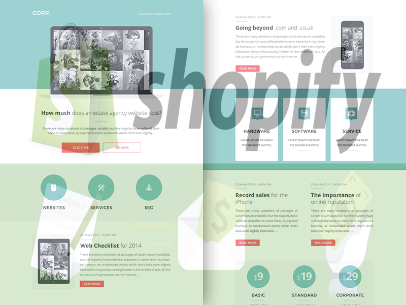 Build And Implement Custom Shopify Email Templates Bay20
