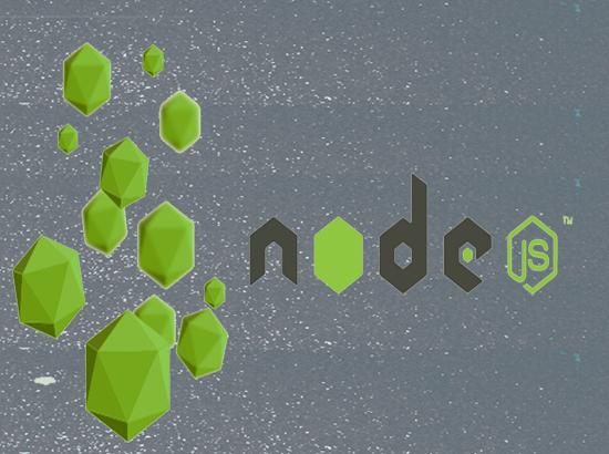 Develop application using NodeJS