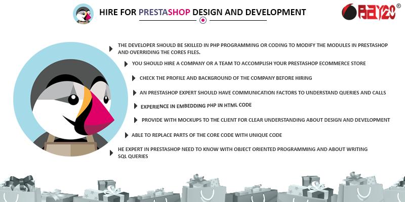 Hire For Prestashop design and development