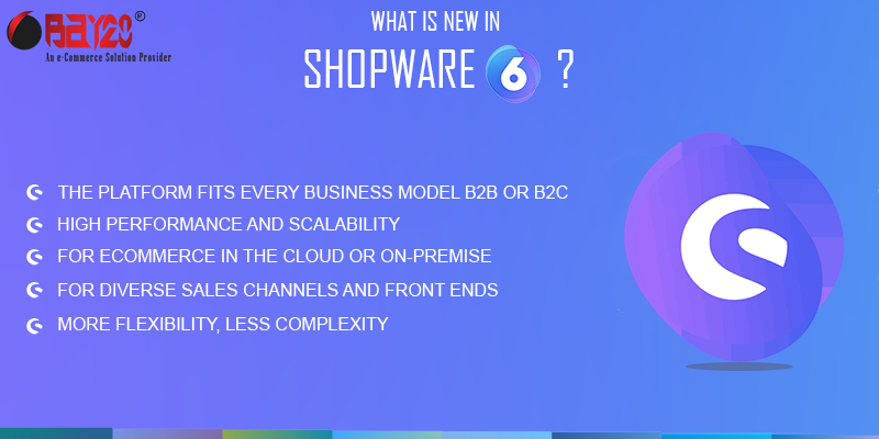 What is new in Shopware 6