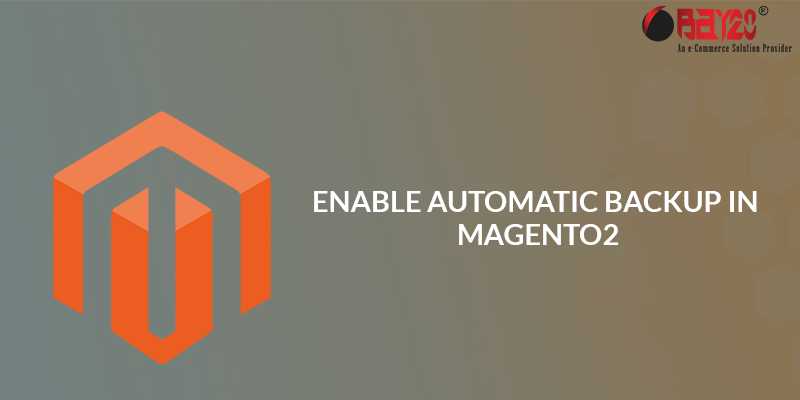 Enable Automatic Backup in Magento 2