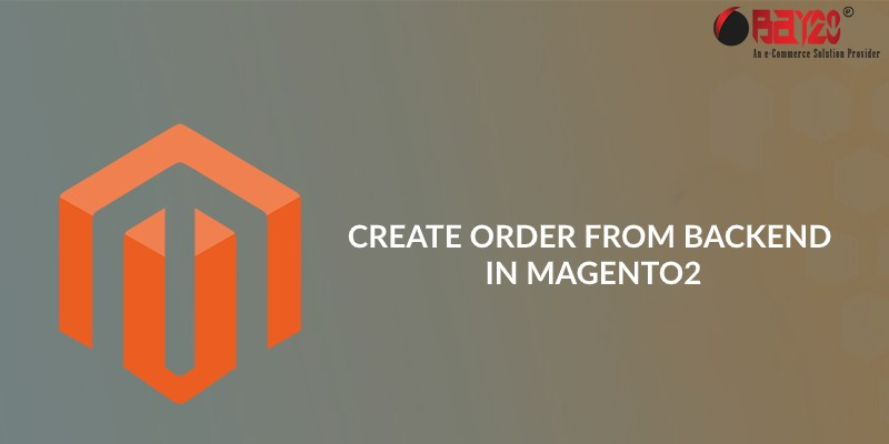 Create Order from backend in Magento2