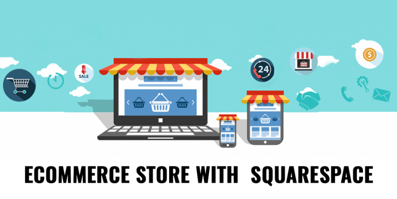 eCommerce store with squarespace