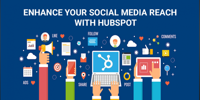 Enhance social media reach with hubspot