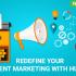 Redefine your content marketing with hubspot
