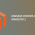 Manage cookies policy in Magento 2