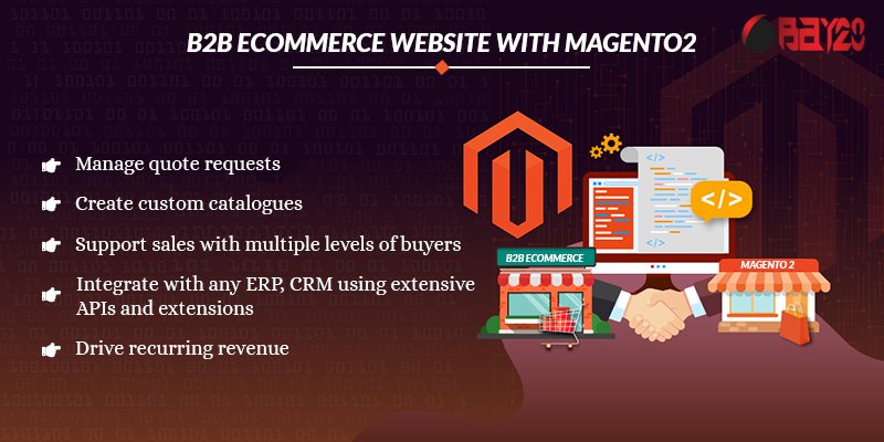B2B eCommerce Website with Magento2