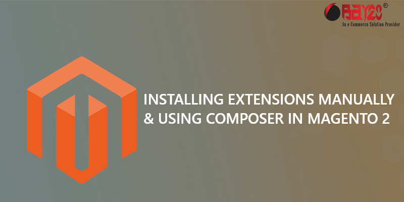 installing extensions manually and using composer in magento 2