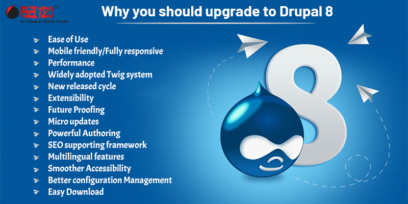 Why you should upgrade to Drupal 8