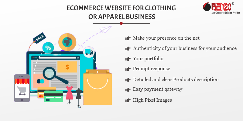 eCommerce Website for Clothing or Apparel Business12