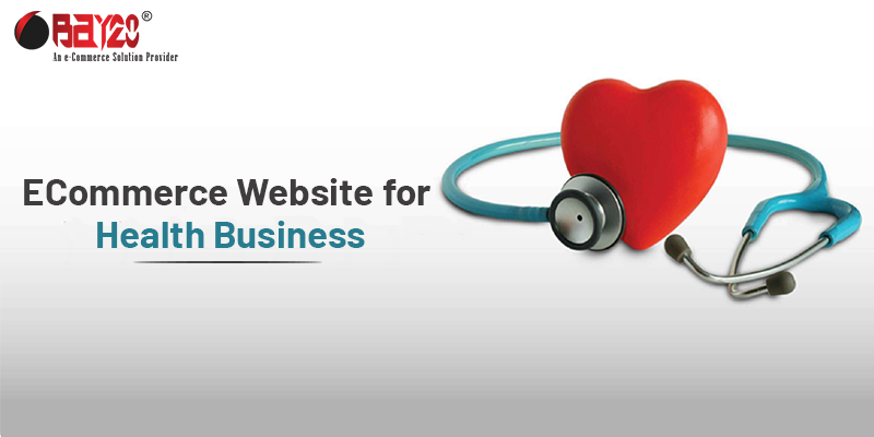 eCommerce Website for Health Business