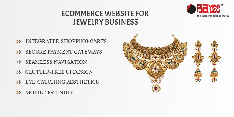 eCommerce Website for Jewelry Business