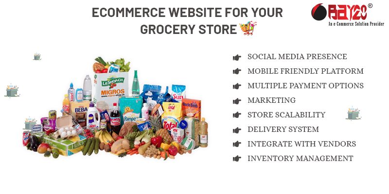 eCommerce Website for your Grocery store