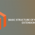 How to create a Basic structure of Magento 2 extension?
