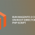 Run Magento 2 Command On Root Directory With PHP Script