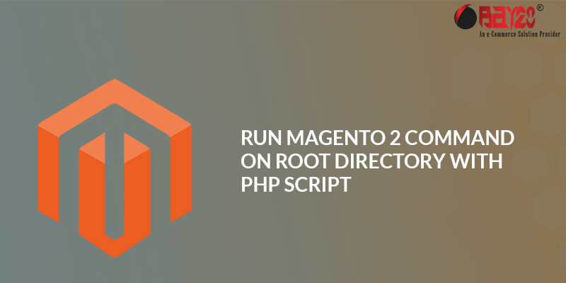 Magento 2 command With php script