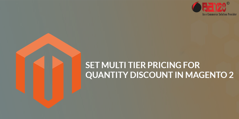 Set Multi Tier Pricing For Quantity Discount In Magento 2
